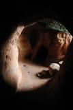Nella caverna Fotografie Stock Libere da Diritti