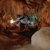 Nella caverna Fotografia Stock