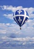 Nella celebrazione del giorno della Quebec San-Jean-Baptiste Fotografia Stock