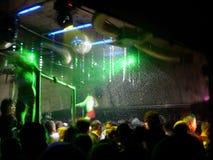 Nella discoteca Fotografia Stock