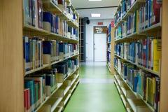 Nella libreria Fotografie Stock Libere da Diritti
