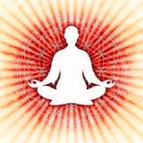 Nella meditazione royalty illustrazione gratis