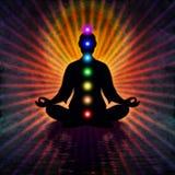 Nella meditazione Fotografie Stock Libere da Diritti