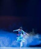 Nella peccato-goccia di auto la sciarpa - danza popolare cinese Immagini Stock Libere da Diritti