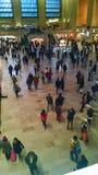 Nella stazione della metropolitana di grande NY di grande Apple Fotografia Stock Libera da Diritti