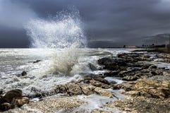 Nella tempesta Royaltyfri Foto