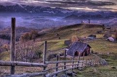 Nella valle Fotografie Stock