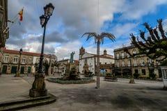 Nella zona di Tui - la Spagna fotografie stock