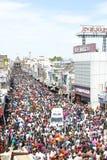 nellaiappar tempelbilfestival Royaltyfri Foto