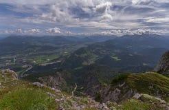 Nelle alpi austriache Immagini Stock Libere da Diritti