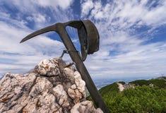 Nelle alpi austriache Fotografie Stock