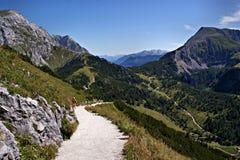 Nelle alpi di Berchtesgaden, la Germania Immagini Stock