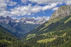 Nelle alpi di Lechtal Fotografia Stock