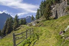 Nelle alpi di Oetztal Fotografia Stock