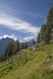 Nelle alpi di Oetztal Immagine Stock