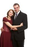 Nelle coppie di amore fotografia stock libera da diritti