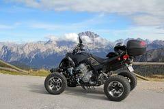 Nelle dolomia in Tirol del sud Immagini Stock