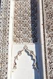 nelle mattonelle del Marocco e nell'estratto colorated Immagine Stock