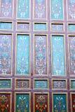 nelle mattonelle del Marocco e nell'estratto colorated del pavimento Fotografia Stock