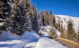 Nelle montagne Fotografie Stock Libere da Diritti