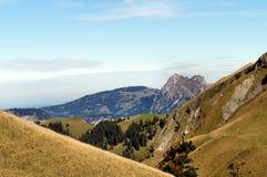 Nelle montagne di Tannheim, il Tirolo Immagine Stock Libera da Diritti