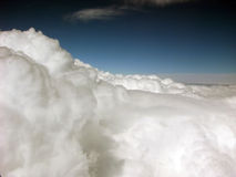 Nelle nubi Fotografia Stock