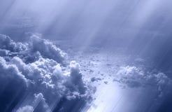 Nelle nubi Fotografia Stock Libera da Diritti