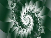 Nelle ombre a fondo grigio illustrazione vettoriale