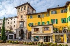 Nelle vie di Udine Fotografie Stock