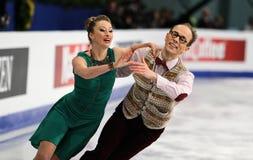 Nelli ZHIGANSHINA / Alexander GAZSI (GER) Stock Photo
