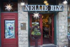 Nellie Bly Kaleidsoscope Store et Jennie Bauters Poster en Jerome Arizona image libre de droits