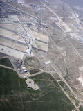 Nellis Air-krachtbasis Nevada Stock Foto