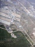 Nellis Air styrkagrund Nevada Arkivfoto
