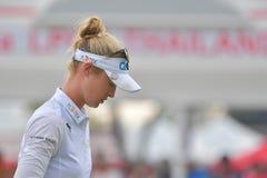 Nelly Korda i Honda LPGA Thailand 2018 Arkivfoton