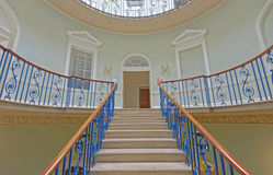 Nelso Staircase Inside Courtauld Gallery, Somerset House, London Royalty Free Stock Photo
