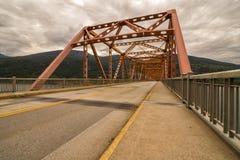 Nelson Bridge. British Columbia Canada stock photography