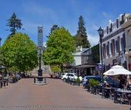 Nelson Cathedral & horisontalTrafalgar gata - Royaltyfri Bild