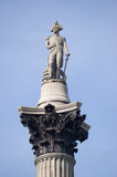 Nelson on Column Royalty Free Stock Photo