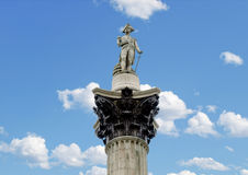 Nelson Column, London Stock Images