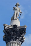 Nelson Column Trafalgar Square London England Stock Images