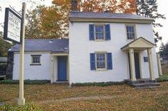 Nelson House i Washington Crossing State Park, på scenisk rutt 29, NJ Fotografering för Bildbyråer