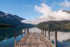 Nelson jezior park narodowy Nowa Zelandia Obraz Royalty Free