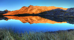 Nelson jeziora, Nowa Zelandia Fotografia Stock