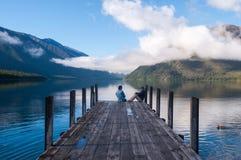 Nelson Lakes National Park New Selandia imágenes de archivo libres de regalías
