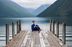 Nelson Lakes National Park New Selandia fotografía de archivo