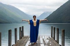 Nelson Lakes National Park New Selandia foto de archivo