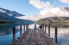 Nelson Lakes National Park New Selandia foto de archivo libre de regalías