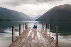 Nelson Lakes National Park New Selandia imagenes de archivo