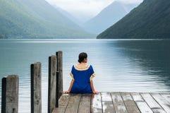 Nelson Lakes National Park New Selandia fotos de archivo libres de regalías
