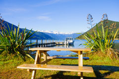 Nelson Lakes National Park. New Zealand royalty free stock photo